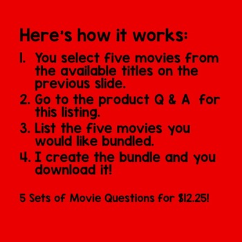 movie titles that are questions