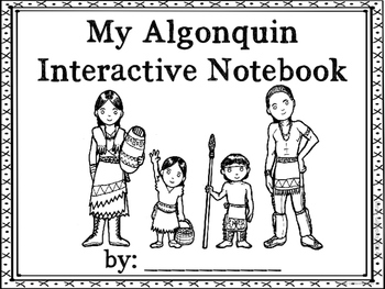 CUSTOM ORDER: Algonquin Interactive Notebook