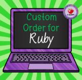 CUSTOM ORDER for Ruby- PART 2