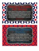 CUSTOM Patriotic 5th Grade Math Tub Labels (with Common Core Standards)