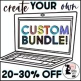 CUSTOM Speech Therapy BUNDLE   Create Your Own Bundle   Speech Bundle & SAVE