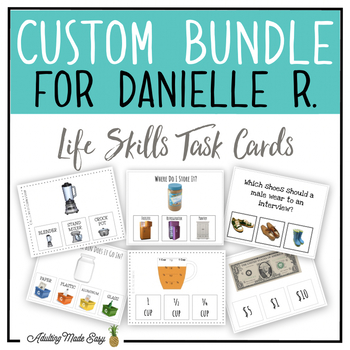 CUSTOM TASK CARD BUNDLE FOR DANIELLE R.
