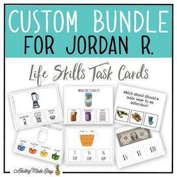 CUSTOM TASK CARD BUNDLE FOR JORDAN R.