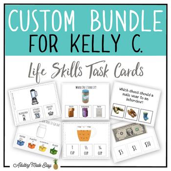 CUSTOM TASK CARD BUNDLE FOR KELLY C.