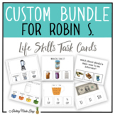 CUSTOM TASK CARD BUNDLE FOR ROBIN