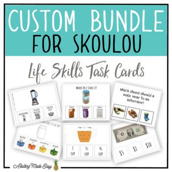 CUSTOM TASK CARD BUNDLE FOR SKOULOU