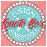 CUSTOM TPT ANIMATED QUOTE BOX