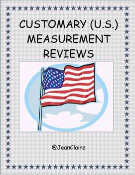 SBAC PREP CUSTOMARY MEASUREMENT REVIEW