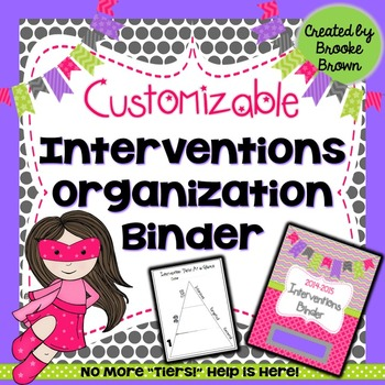 RTI Organization Binder