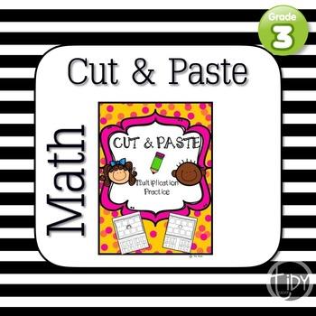 CUT & PASTE MATH (Multiplication)