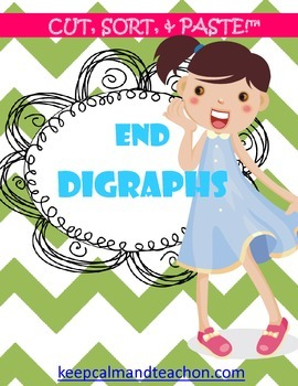 CUT, SORT, & PASTE: end / final digraphs
