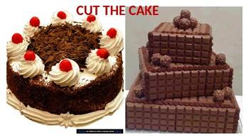CUT THE CAKE GAME