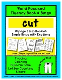 CUT - Word Fluency Book & Emotion Bingo - Sight Word Focus