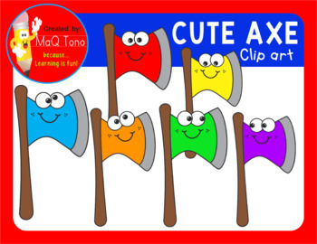 CUTE AXE CLIPART
