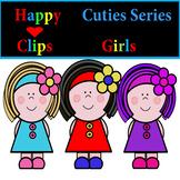CUTE KIDS CLIP ART /GIRLS