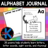 {CUTE} Letter / alphabet journal with poems, sentences, &