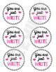 CUTE STUDENT VALENTINE'S DAY GIFTS   VALENTINE'S DAY GIFT TAGS