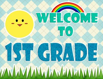 CUTE! Welcome Banners [FREE] (General Banners and Signs up to 3rd Grade)