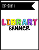 {CUTE} and {COLORFUL} Classroom Decor Pack! {Customize} Your Pennant Banners!