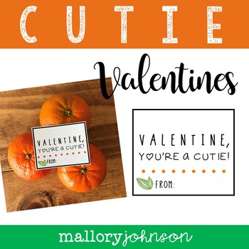 CUTIE Valentine's Day Cards