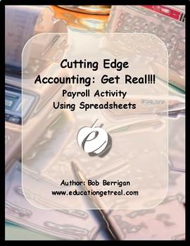 "ACCOUNTING & FINANCIAL LITERACY  –  ""Payroll Activity Using Spreadsheets"""