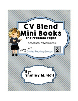 CV Blend Mini Books - EasyFlow Guided Reading Step 2