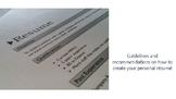 CV / Résumé - A guideline