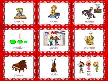 Suki's Kimono  CV / VC  & CV/V Syllables  Photo Center Cards  Reading St.  3rd