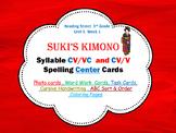 Suki's Kimono  CV / VC  & CV/V Syllables  Photo Center Car