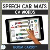 CV Word Speech Therapy Car Mats for Apraxia Interactive Bo