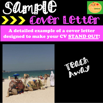 CV and Cover Letter: Combined