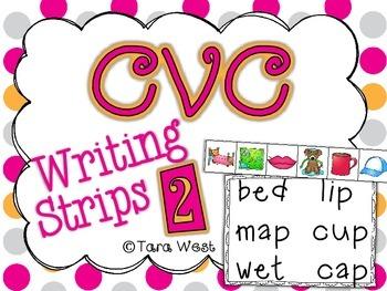CVC Writing Strips 2