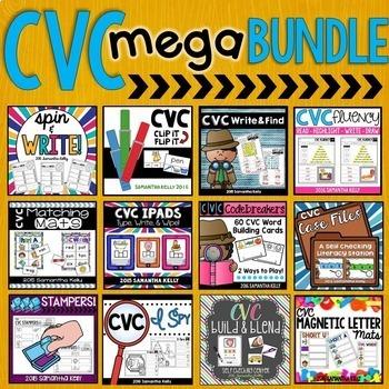 CVC Word Work Stations