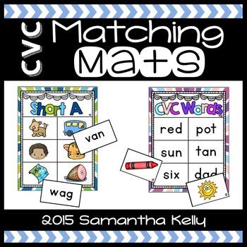 CVC Station - Matching Mats