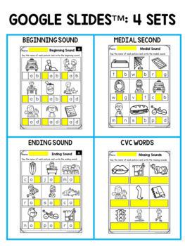 CVC Worksheets-CVC Words Worksheets (Beginning, Middle And ...