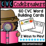 CVC Station - Word Building Cards
