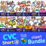 CVC -A- Clipart Bundle