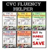 CVC FLUENCY HELPER BUNDLE words sentences simple passages