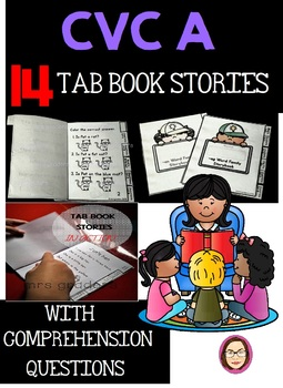 CVC A EASY TO READ TAB BOOK STORIES