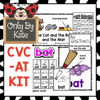 CVC -AT Kit, Reading Mastery Print
