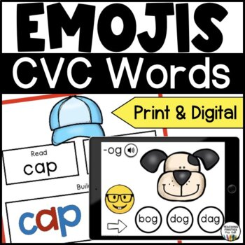 Short Vowel CVC Activities for Seesaw - Distance Learning