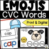 Short Vowel CVC Phonics Activities for Seesaw and Google -