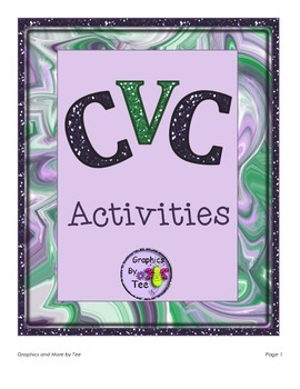 CVC Activities Bundle