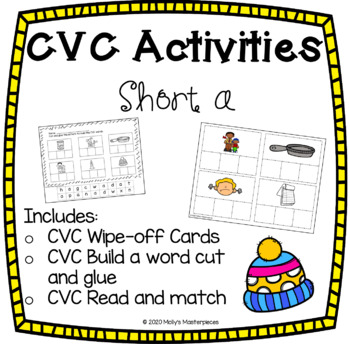 CVC Activities Pack - Short a