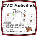 CVC Activities Pack - Short o Word Family