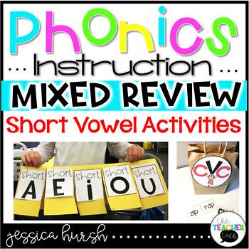 CVC Activities - Phonics Instruction