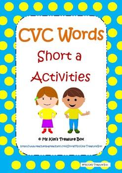 CVC Activities - Short a Words