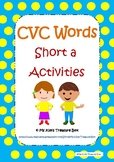 CVC Activities - Short a Words