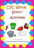 CVC Activities - Short i Words