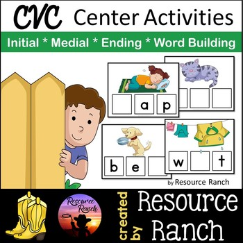 CVC Activities for Practice Set 3
